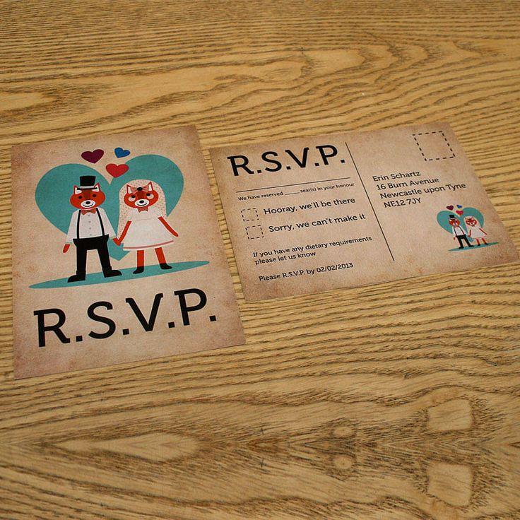 12 best RSVP images on Pinterest | Wedding rsvp, Bridal ...