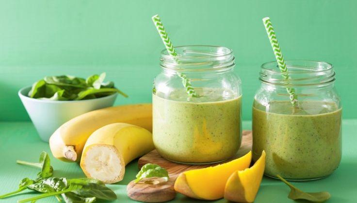 Frullato di spinaci, mango e banana: la carica del ferro con tutta l'energia…