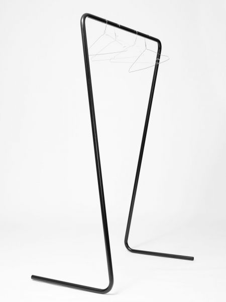 Austrian designer Klemens Schillinger, currently based in London, has produced Oneline – a lightweight clothes rail with beautiful simplicity.