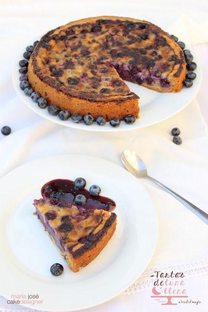 Tartas de luna llena: Tarta de arándanos - Blueberry pie