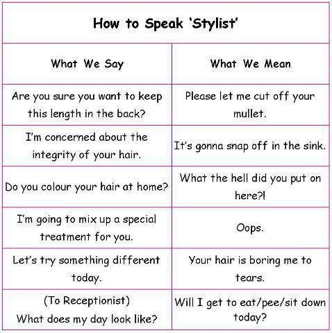 192 best Stylist humor images on Pinterest Hair quotes - hairstylist job description