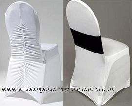spandex chair covers, lycra chair covers, stretch chair covers