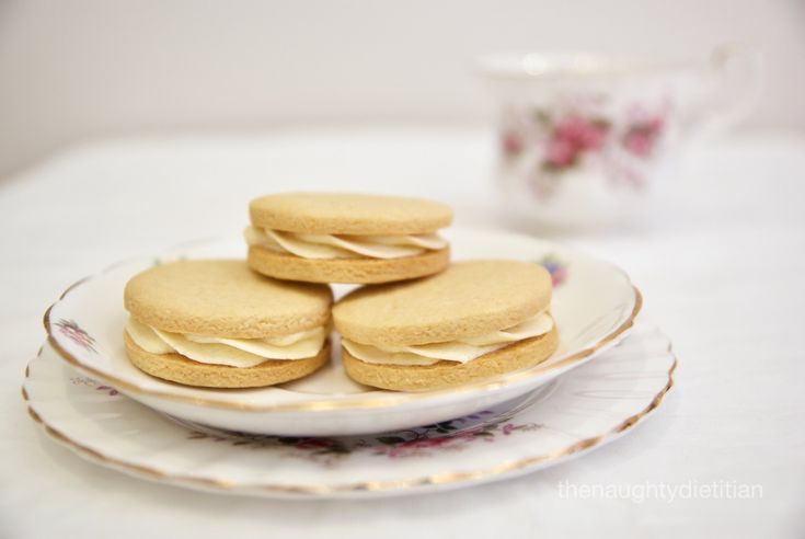 Passionfruit Cream Biscuits (Gluten Free)