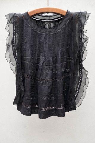 Black Ojima Top -- Isabel Marant (of course).  So beautiful...