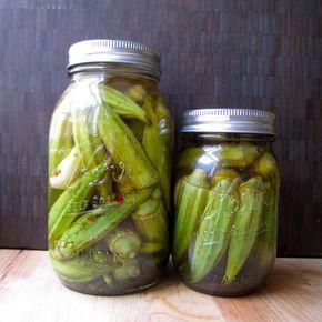 pickled okra (refrigerator pickles)   instructables.com