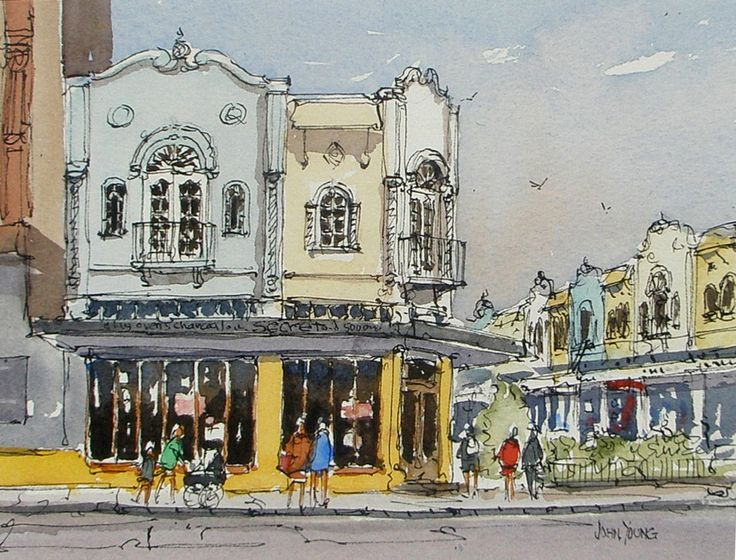 John Young - Clay Oven Cafe, cnr New Regent & Gloucester