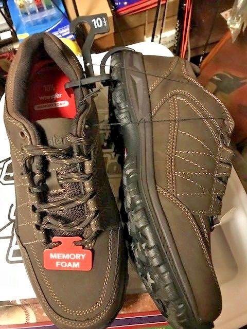 1b365edb WRANGLER MENS SHOES SZ 10.5 MEMORY FOAM Shoes NEW #WRANGLER #HIKERS ...