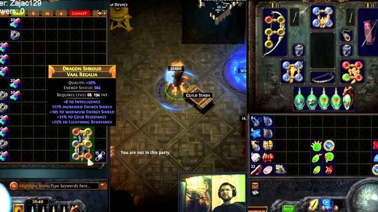 Path of Exile / [PSC/2.2.1d] / Return of the 6L