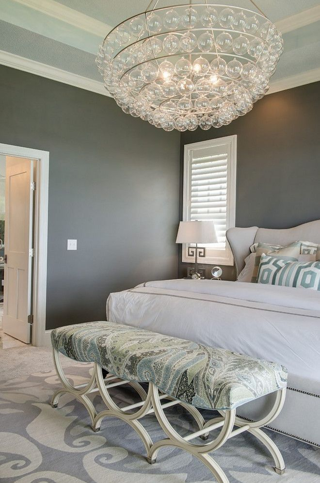 Paint Color is Benjamin Moore Chelsea Gray HC-168.
