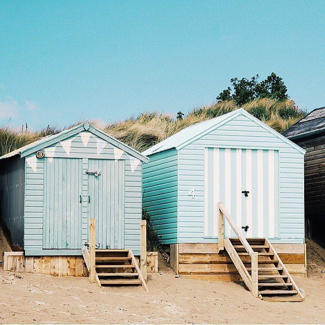 87 best beach huts images on Pinterest