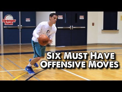 6 Offensive Moves Every Basketball Player Must Have - YouTube