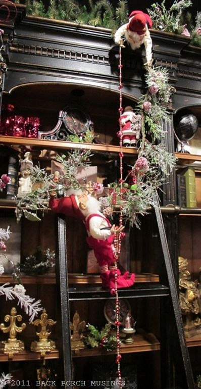 elves at work  - we all need some help during the holidays!: Cabinets, The Holidays, Decor Ideas, Christmas Elf, Cute Ideas, Elf On Shelf, Santa Elves, Back Porches, Christmas Decor