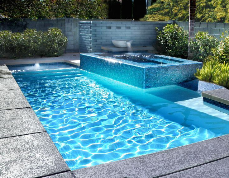 Make A Splash 50 Spectacular Pool Waterfalls And Water Features Pool Waterfall Backyard Pool Pool Water Features