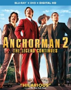 Anchorman 2: The Legend Continues (PG13)