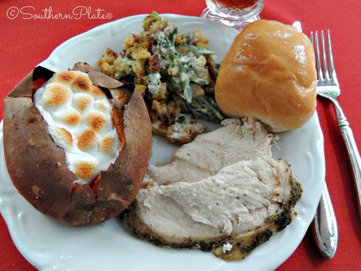 Slow Cooker Turkey Breast – My little Thanksgiving :) ~ http://www.southernplate.com