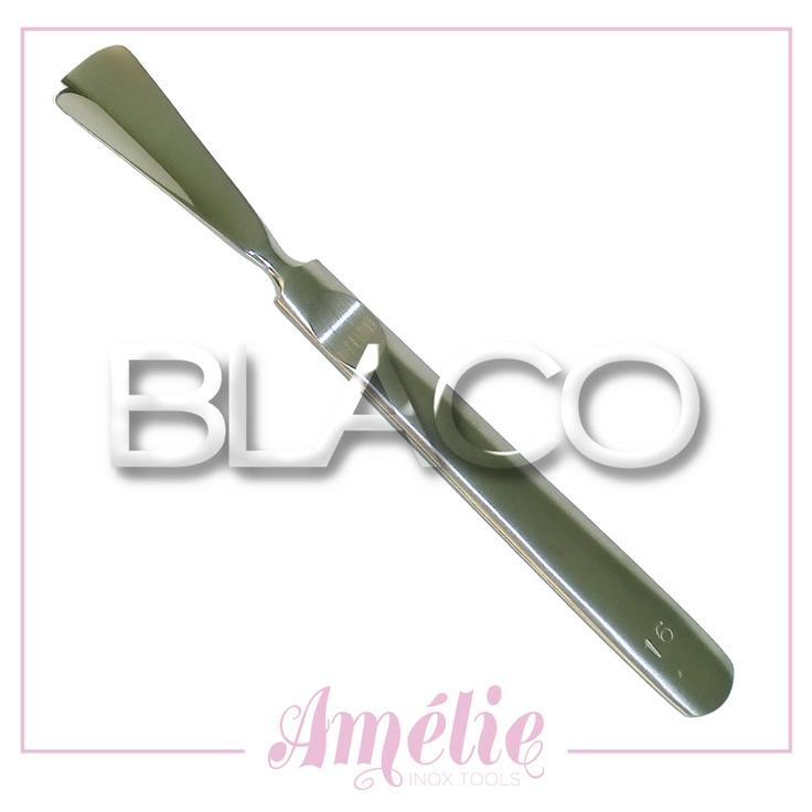 Amelie inox tools sgorbia num.16