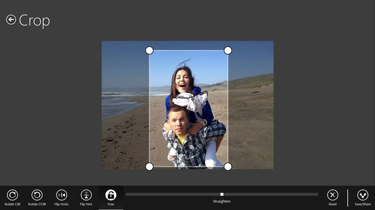Adobe Photoshop Express app // for Windows in the Windows Store
