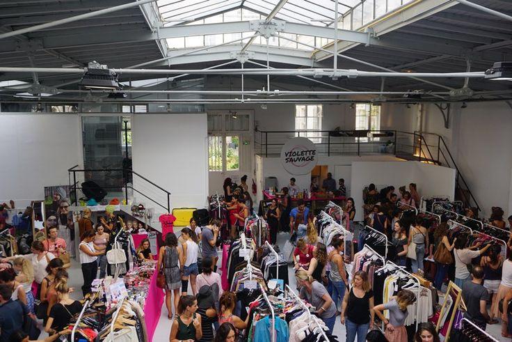 Vide-dressing géant organisé par l'association Violette Sauvage - Marais-paris-4