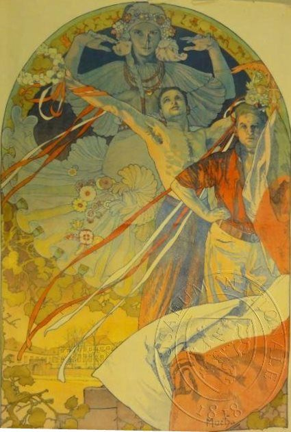 VIII... by Alfons Mucha, 1926. eSbírky, CC BY