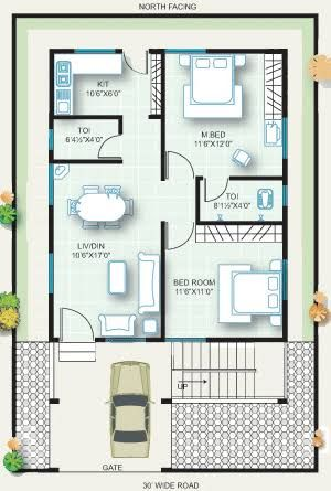 Image Result For 20x30 House Plans 20x30 House Plans 2bhk House Plan 20x40 House Plans