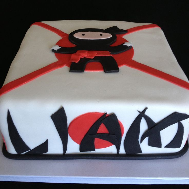 ninja cake - Google Search                                                                                                                                                     More