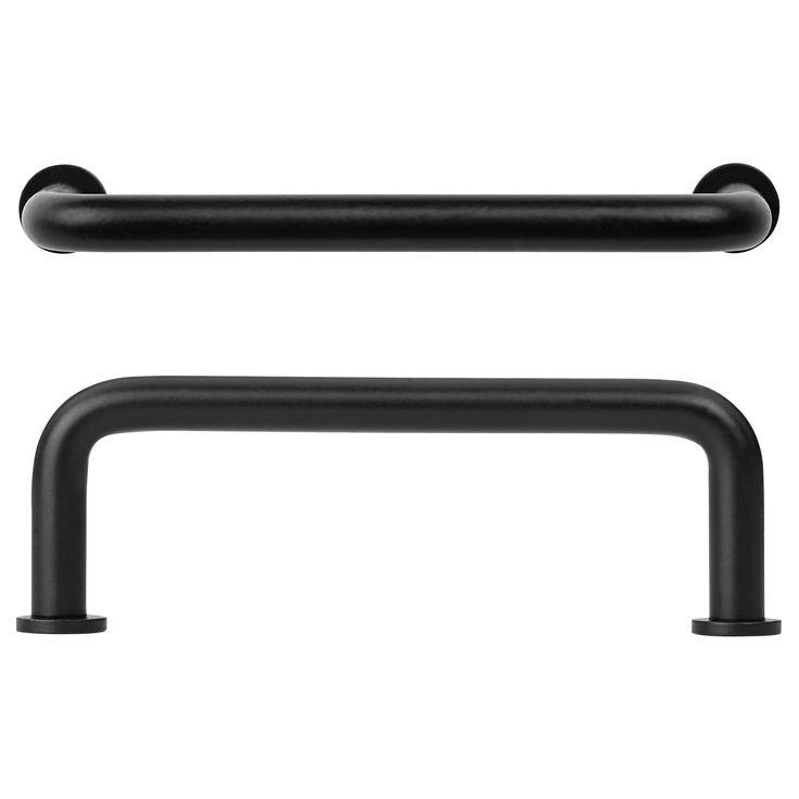 ULVSBO 取っ手 - ブラック - IKEAでお気に入りの取っ手
