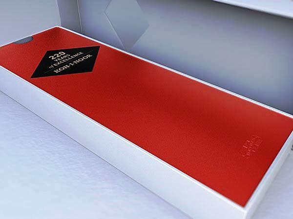 Desain katalog brosur perhiasan - Koh-I-Noor 2