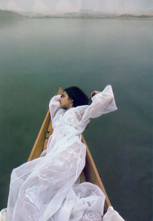 Biba July 2008, Lakshmi Menon photographed byBenoit Peverelli