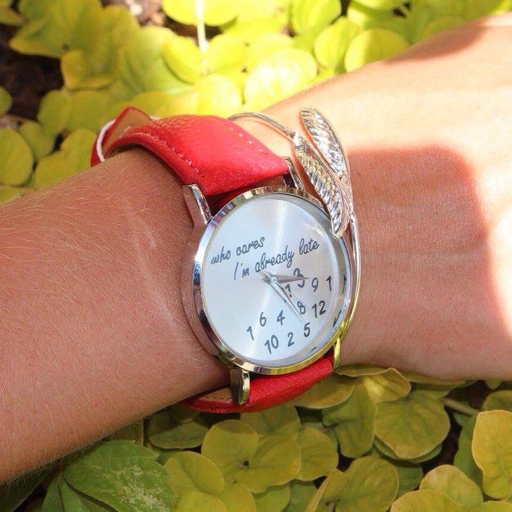 Super cute watches.