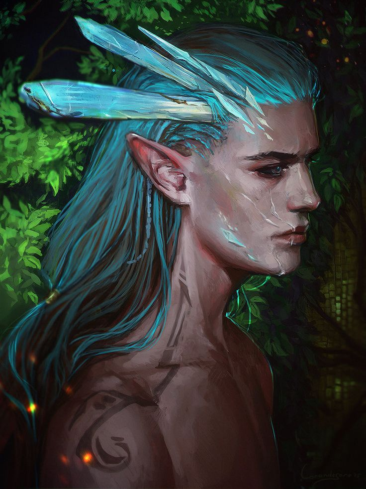 Crystall elf by LoranDeSore on DeviantArt