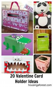 20 creative Valentine Card Holders