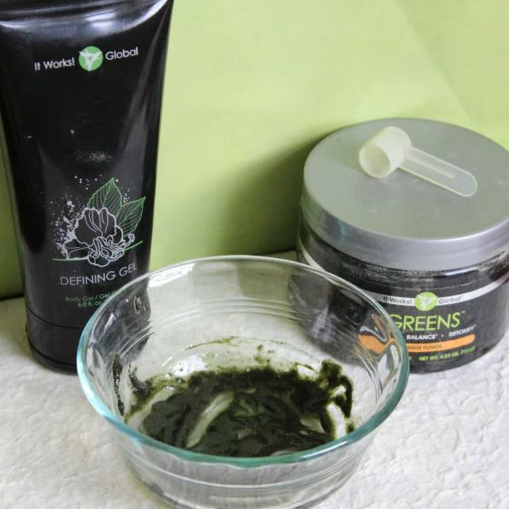 No time for the spa??!!  Create your own spa experience at home! ✋✋ Use 1 scoop of It Works! Greens and 1 TBSP of Defining Gel to make a paste and add more Defining Gel depending on how thick or thin you would like it. Apply and leave it on for 45 minutes to 1 hr and relax.  Benefits:  Anti-inflammatory properties of Defining Gel help to ease puffy eyes  Greens contain phytonutrients and vitamins that get absorbed straight into your skin for a healthy youthful glow The tightening & toning…