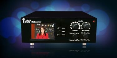 IVB7 Webcasting hardware unit is available in the market today which effectively digitizes the captured video content to stream online. This particular webcasting device is intricately designed by hardware experts of the IVB7 team to deliver high quality webcasting. It supports multiple video inputs, audio-mixing and video-editing. It has built-in volume controls, video preview monitor and microphone.For details visit http://ivb7.com