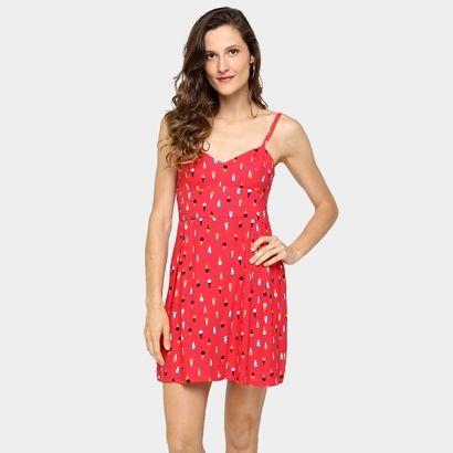 Compre Vestido Cantão Estampa Sorvete Vermelho na Zattini a nova loja de moda online da Netshoes. Encontre Sapatos, Sandálias, Bolsas e Acessórios. Clique e Confira!
