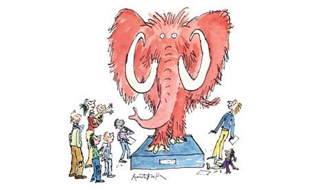 Quentin Blake - he really is the master!