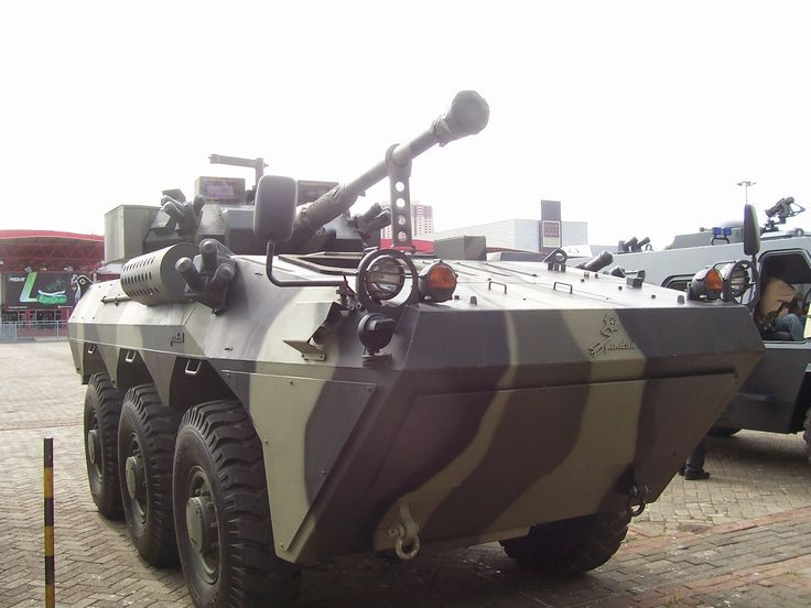 Anoa Canon Pindad. Made in Indonesia