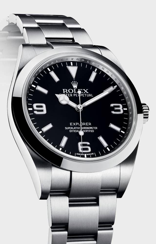 Nouvelle Montre Rolex Explorer Étanche