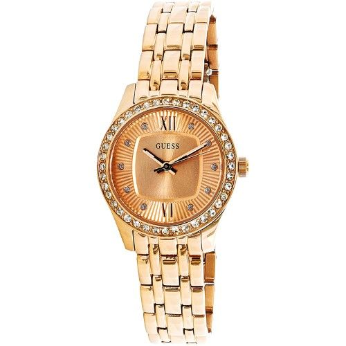 27c7d3c49d31 Guess Women s U0762L3 Rose-Gold Stainless-Steel Japanese Quartz Fashion  Watch