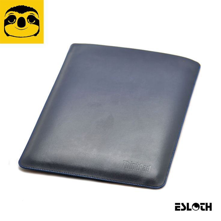 """==> [Free Shipping] Buy Best ESLOTH Plain Weave Blue For Lenovo ThinkPad X1 Carbon 14"""" PU Leather Cases Into Sets of Bladder Bag Ultra Thin Light Laptop Bags Online with LOWEST Price 