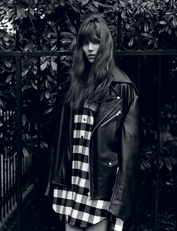 visual optimism; fashion editorials, shows, campaigns & more!: freja beha by alasdair mclellan for i-d summer 2015