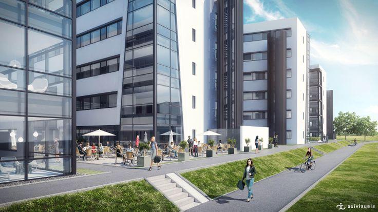 Exterior | Stavanger Businesspark | NCC
