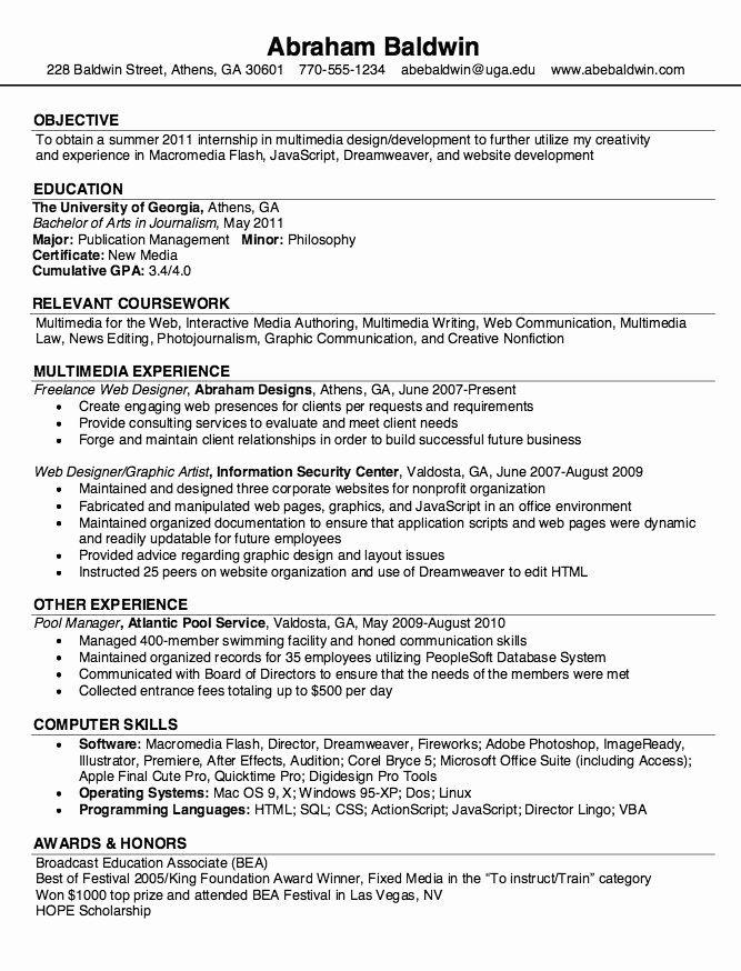 Freelance Graphic Designer Resume Fresh Samples Resume Freelance Web Designer Graphic Design Resume Resume Design Web Designer Resume