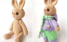 easy amigurumi bunny crochet pattern