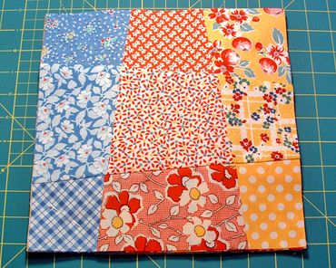 Love this tutorial from jenny allsorts blog - Crazy 9 Patch