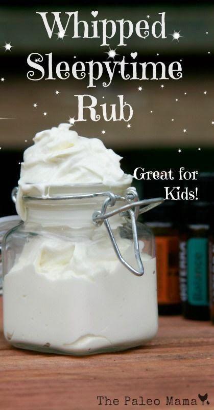 DIY Whipped sleepy time rub cream