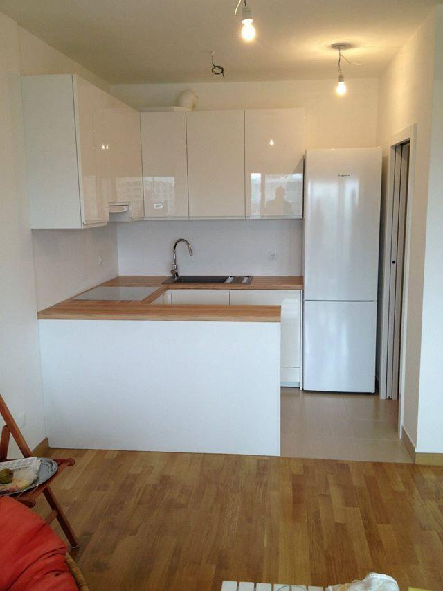 #dankuchen u-vormige keuken. Ook oplossing voor de kleine ruimte