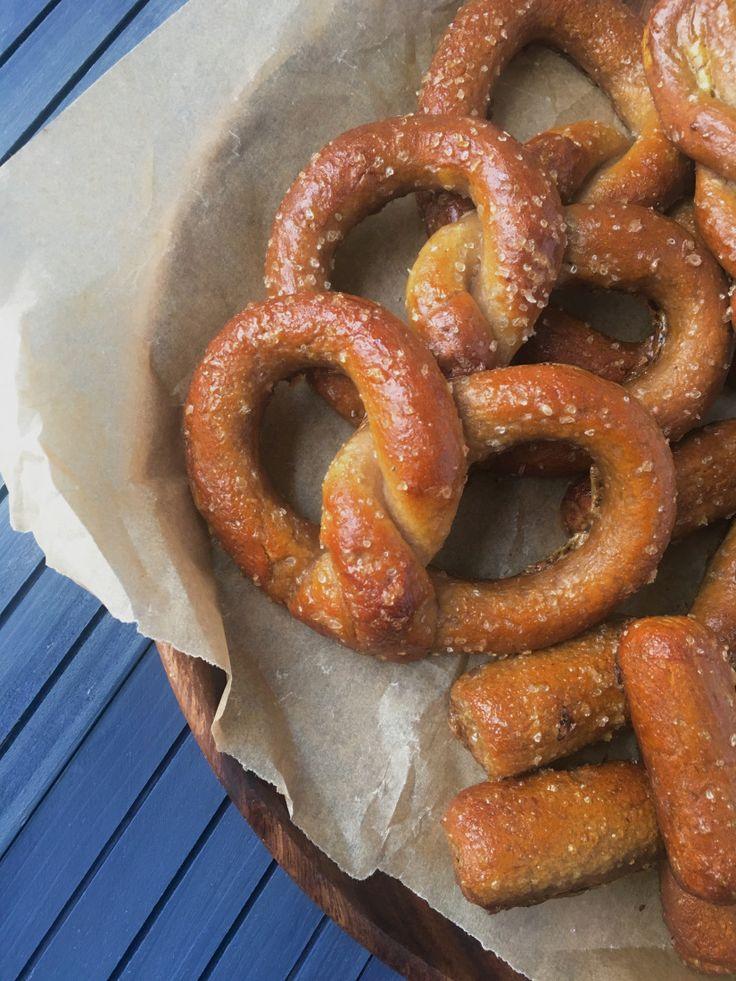 yeast free paleo pretzels