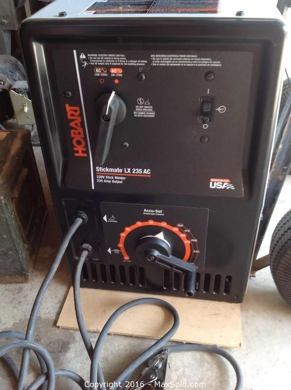 Hobart Arc Welder and more in Barrie Online MaxSold Auction. Bid online now!