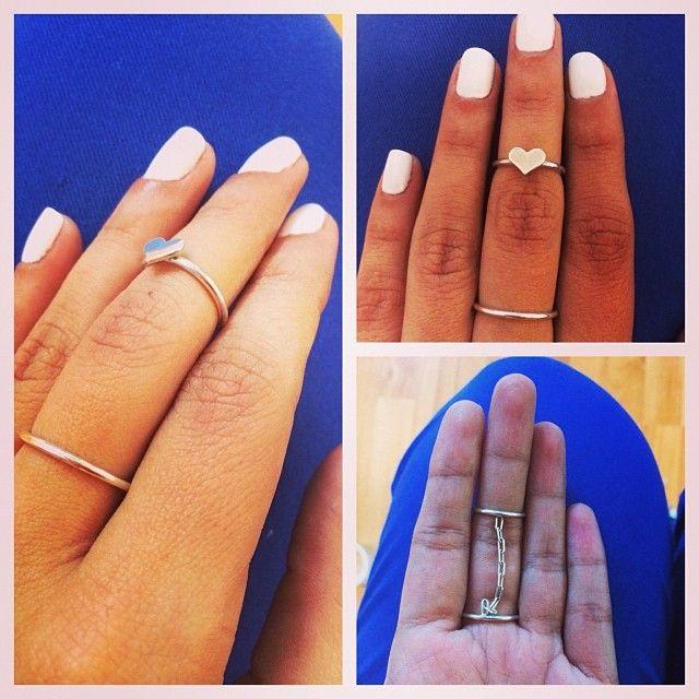 Mid Finger Rings Plata 925, realizado a mano con mucho cariño