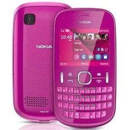 Nokia Asha 201 Pink @ Rs. 3,699